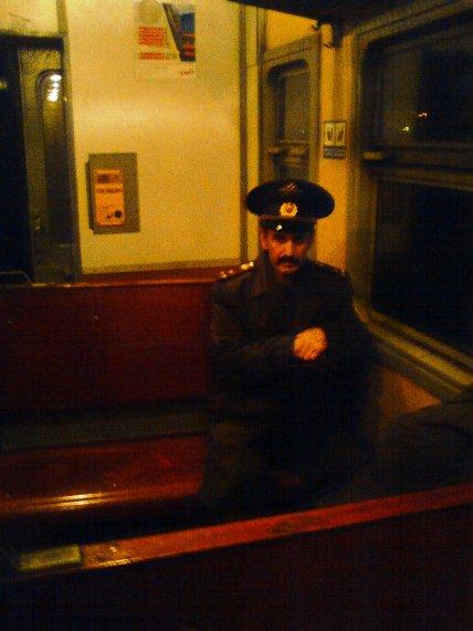 Полковник в электричке